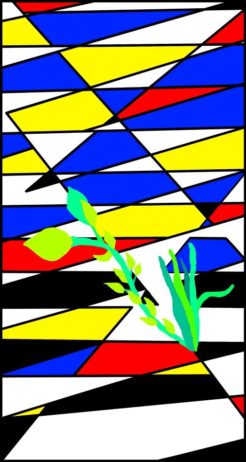Pandemie, Covid-19, Corona, Geometrie, Muster, Grundfarben