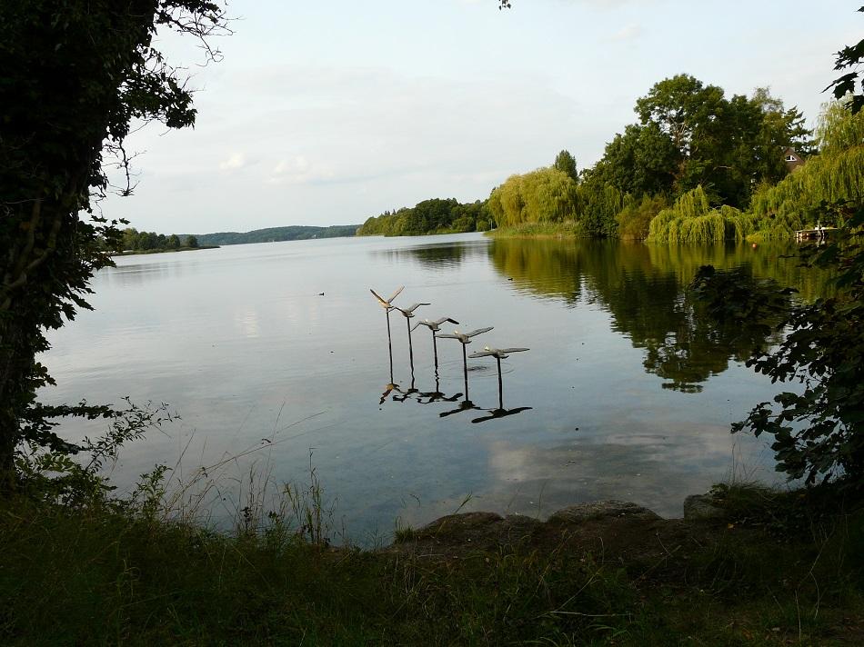Holzskulptur, Kellersee