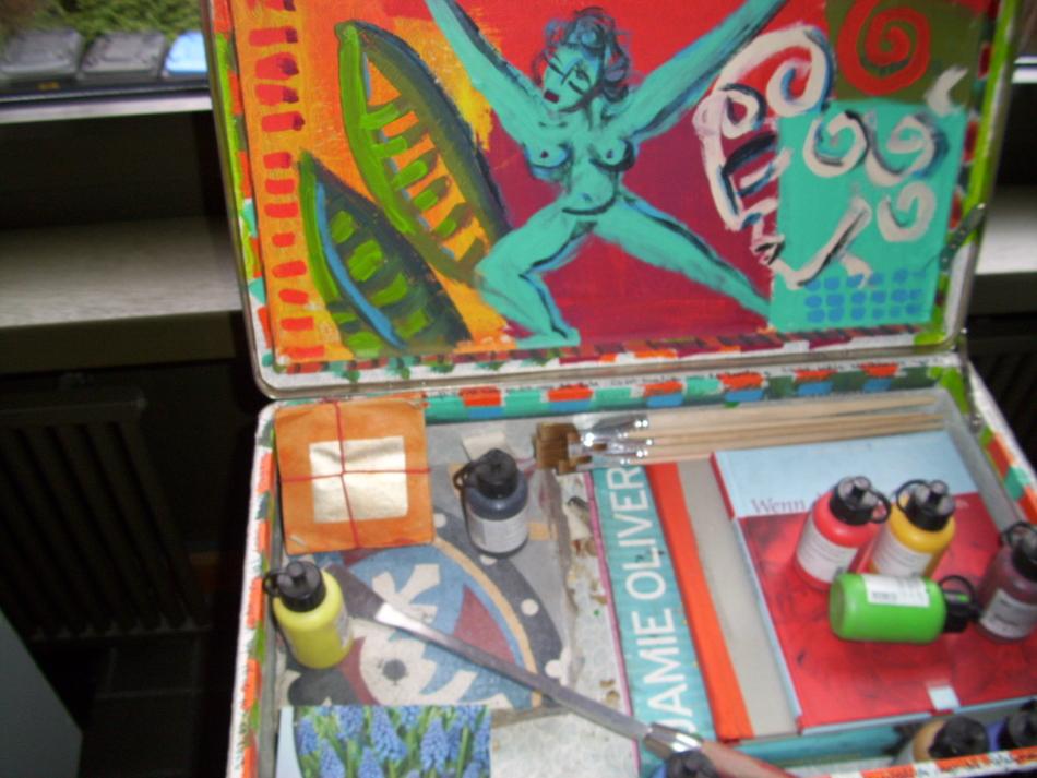 Kunstprojekt, Ein Koffer für die letzte Reise, Siegen