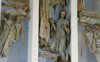 Altarraum St. Maria Himmelfahrt, Olpe, Engel