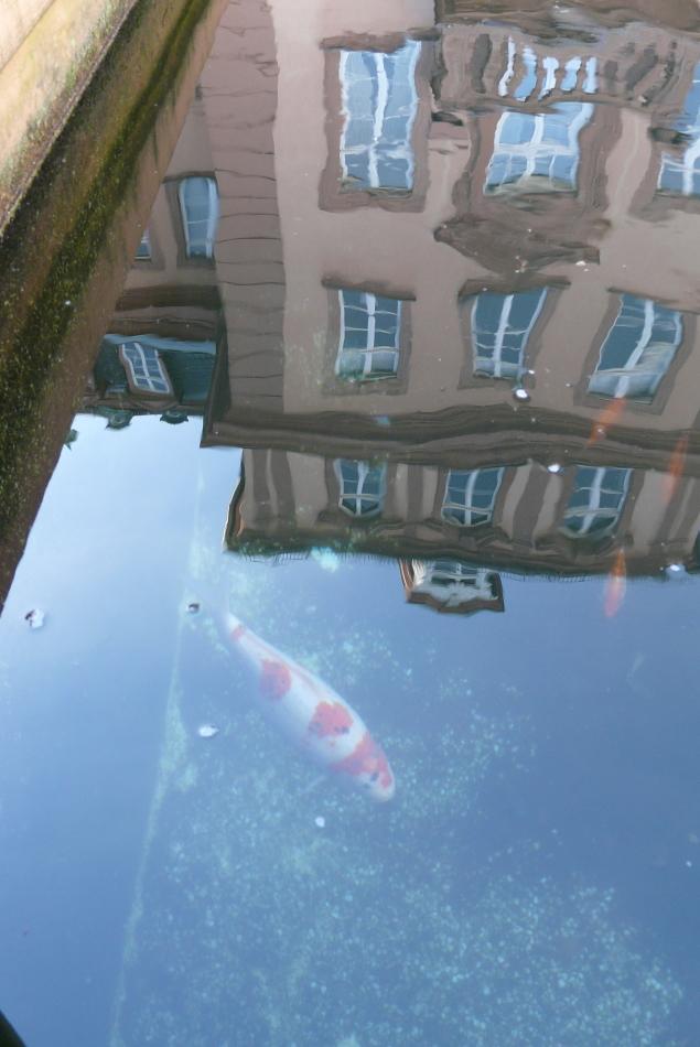 Schloss mit Goldfischen, Bad Berleburg