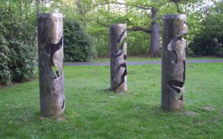 Statuen aus Blech, Kreuztal, Dreslers Park,